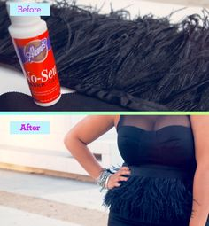 This would be neat to give a try & use with some of my dresses.    DIY styles that are as good as the real thing - Fine Feathers | Gallery | Glo