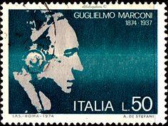 Nobel Prize Winners, Inventors, Stamp, Science, History, Movie Posters, Seals, Italia, Historia
