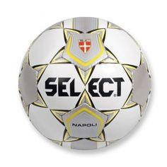 Select Fotboll Napoli Junior Vit/Silver
