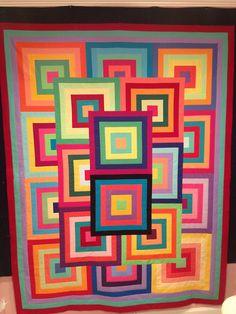 Wow! What a fun quilt!