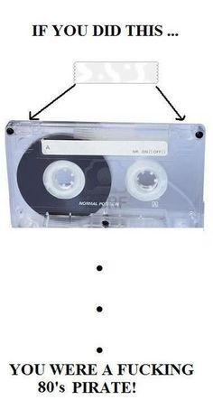 80s Music Piracy