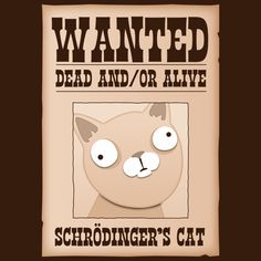 Schrodinger's Cat: Wanted Dead And/Or Alive