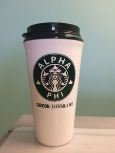 16 oz, Insulated Snap on Lid Tumbler.Alpha PhiCaution: Extremely HotOrders will be sent out every Friday!