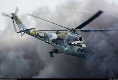 Czech - Air Force – Mil Mi-24V Hind 7538
