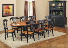 Country Marketplace - Urban Country Double Pedestal Table Top with two Leaves, $999.00 (http://www.countrymarketplaces.com/urban-country-double-pedestal-table-top-with-two-leaves/)