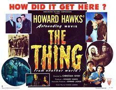 The Thing from another Planet, (1951), movie poster