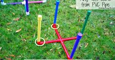 Day 4 Another blast from the past is this ring toss game. I made the rainbow one for Lucy's birthday party for the kids to play,...