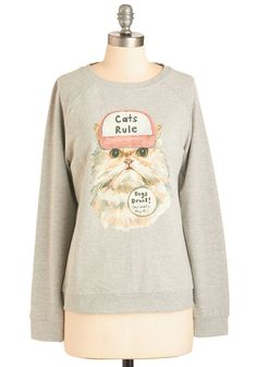 Speaker of the House-cat Sweatshirt