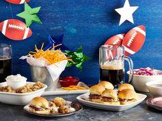 Football-Watching Favorites : Giada De Laurentiis ups her game by turning classic bar snacks into homemade treats.