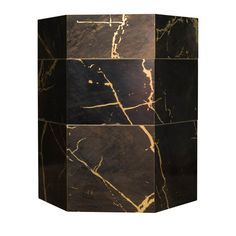 Cushion Fabric, Concierge, Black Marble, Corner, Brass, The Unit, Deco, Elegant, Storage
