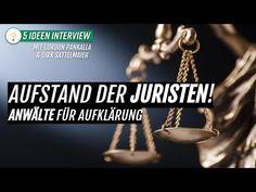 🚨 Aufstand der Juristen! Anwälte für Aufklärung (Interview mit Gordon Pa... Justiz, German English, Youtube Kanal, Monologues, Aspergers, Forensics, Interview, Author, Interesting Facts