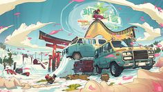 Creative Illustrations by Sergi Brosa | Cruzine