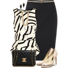 separation shoes d4314 e22cf Blanco y negro outfit