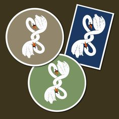 I've been looking at making my fighting swan illustration into patches and have been trying out some different colours. What do you think? #patches #fightingswans Swan, Different Colors, Thinking Of You, Patches, Colours, Illustration, How To Make, Cards, Instagram