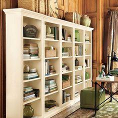 Tuscan Flush Bookcases - Set of 5 - Ballard