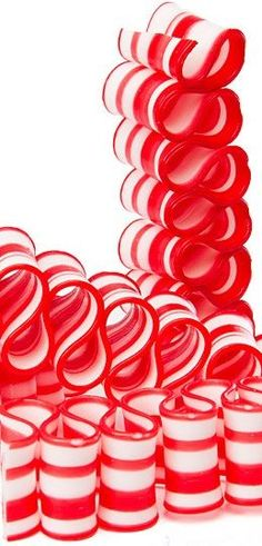 Look at this beautiful peppermint ribbon, the perfect candy for Christmas candy buffet tables! http://www.candywarehouse.com/products/red-and-white-thin-peppermint-ribbon-candy-4-ounce-box/