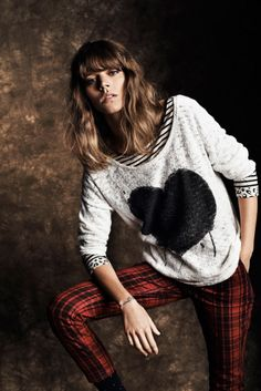 Freja Beha. I WANT THOSE PANTS