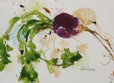 root vegetable, farmers market, watercolor, painting, fine art, Lisa Livoni, Napa Valley artist