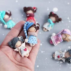 The Effective Pictures We Offer You About Polymer Clay Projects miniatures A quality picture can tel Polymer Clay Figures, Cute Polymer Clay, Cute Clay, Polymer Clay Dolls, Polymer Clay Miniatures, Polymer Clay Charms, Polymer Clay Projects, Handmade Polymer Clay, Clay Crafts