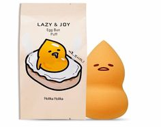 Holika Holika Gudetama Egg Bun Puff 1EA Korea Cosmetic Puff K-beauty   | eBay