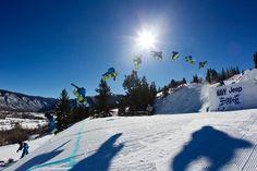 X Games Men's Snowboard Slopestyle Elimination (credit: Jimbo @ shredstix). Find more @ http://shredstix.com/user/Jimbo/18.html