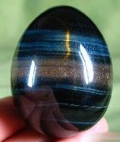 Blue Tiger Eye Egg