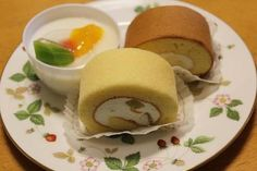 Perfect rolled cakes and almond jelly from Ogawaken Patisserie in Tokyo