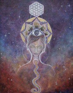 I am rooted and safe. I am creative. I am strong. I am loved. I am expressive. I am connected. I am divine. Eu estou enraizado e seguro. Sou criativo. Eu sou forte. Eu sou amado. Eu sou expressiva. Eu estou conectado. Eu sou divino.