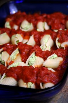 60-Calorie Vegan Stuffed Shells Taste Just Like the Real Thing