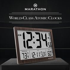 "We are proud to say that our clocks have been repeatedly selected in the ""The 10 Best Atomic Clocks"" in the   world. https://wiki.ezvid.com/best-digital-wall-clocks   http://www.sheknows.com/best-reviews/ca/atomic-clocks"