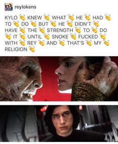 You do not mess with Rey in front of Kylo. He'll fuck you up if she doesn't first.