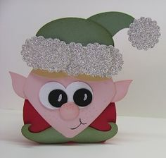 Curvy Keepsake Box Elf
