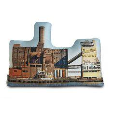 Domino Sugar Refinery oreiller imprimé par intheseam sur Etsy