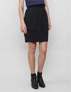 VPL Neo Sponge Disjoin Skirt- Black