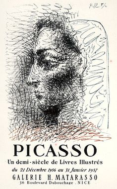 Picasso, Pablo - MP. 82 - Un demi - siecle de Livres Illustres