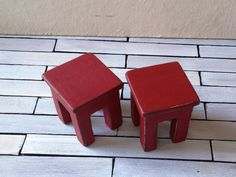 Items similar to 2 Dollhouse Miniature Chairs - Dollhouse stools - miniature chairs - 1 12 dollhouse furniture on Etsy Miniature Chair, Garden Accessories, Dollhouse Furniture, Vintage Dolls, Dollhouse Miniatures, Crates, Pottery, Stools, Unique Jewelry
