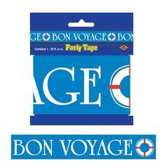 Bon Voyage Party Tape