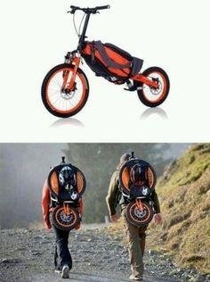 Bug out bike!