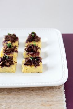 Braised Short Rib and Potato Bites with Cabernet Sauce | Annie's Eats