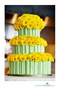 Cake or cupcakes but if made the flowers out of gum paste