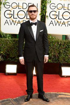 Michael Fassbender - 71st Annual Golden Globe Awards - Arrivals