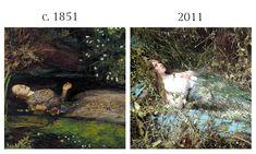 John Everett Millais and Steven Meisel