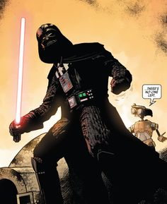"""There's no one left."" (Darth Vader #1, 2020) - Raffaele Ienco & Neeraj Menon"