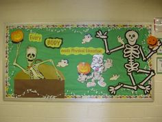 halloween bulletin board ideas | PEC: Bulletin Boards for Physical Education