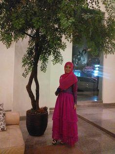 Pink hijabi