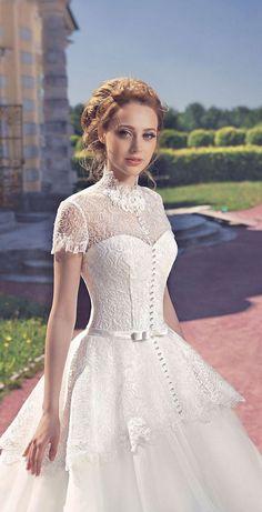 Milva 2016 Wedding Dresses Fairy Garden Collection / http://www.deerpearlflowers.com/milva-wedding-dresses/14/