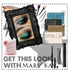 """""""Rock the Teal with Mary Kay"""" by brooketurney on Polyvore http://www.marykay.com/lisabarber68  Call or text 386-303-2400"""