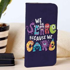 Monsters Inc | Disney | Movie | custom wallet case for iphone 4/4s 5 5s 5c 6 6plus case and samsung galaxy s3 s4 s5 s6 case - RSBLVD