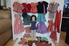 1930's M.A. Snow White Doll & Wardrobe from debscedarchest on Ruby Lane