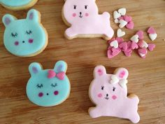 DIY kawai cookies by Moma Sablés supers mignons